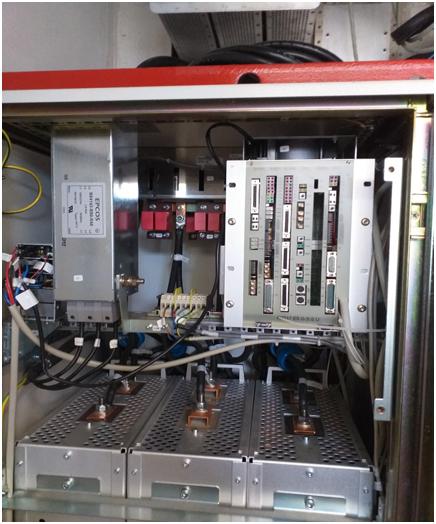 07369973 DAC Board  D112 05726349 Regulator    D12 05726364 Monitor       D14 05725515 Can-Service D16 05726430 I/O Board    D17 05725671 Noise Filter 440V 3x80A 03059482 AC-DC 230/5/15/2 04760752 FOC Cable W31 22m